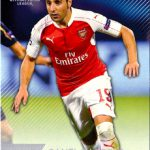 Topps 開封結果 15/16 UEFA Champions League Showcase