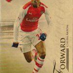 futera 開封結果 2015 Arsenal UNIQUE ビッグサマー終了