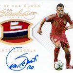 ブログ再開 15/16 Panini Flawless Soccer サンティ・カソルラ エンブレムパッチサイン