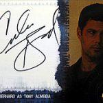 海外ドラマ 24 シーズン4トレカよりカルロス・バーナードの直筆サインを入手
