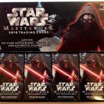 Topps 開封結果 2016 Star Wars Masterwork 1/4