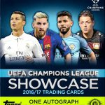 Topps 開封結果 16/17 UEFA Champions League Showcase