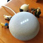 話題のAIスピーカー Google Home miniを使ってみた