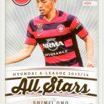 Tap N Play Select オーストラリアリーグのサッカーカードで注目すべきサインリスト