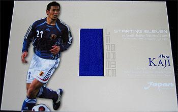 2007 サッカー日本代表SE ジャージカード 加地