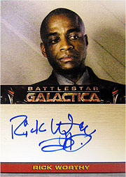 Autograph Cards #Rick Worthy as Simon (Limited)
