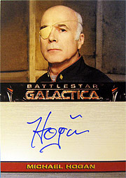 utograph Cards #Michael Hogan as Saul Tigh (Very Limited)