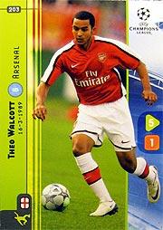 UEFA チャンピオンズリーグカードゲーム2009 ウォルコット