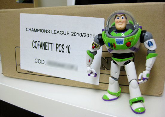 Panini チャンピオンズリーグ2010-2011 ケース購入