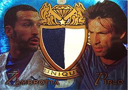 futera UNIQUE 2008 ザンブロッタ&ピルロ