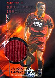 PANINI SERIE A BEST OF 1990-2000 中田 ローマジャージ