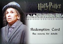 ハリーポーッター Mrs.Figg レデンプション