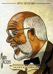 インディジョーンズ Masterpieces スケッチカード