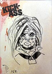 キック・アス トレーディングカード6