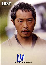LOST Season 1 Thru 5 直筆サイン マイルズ・ストローム(ケン・レオン)1