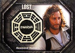 LOST Archives ダーマパッチカード #DP7 デズモンド1