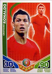 Match Attax ワールドカップ2010 #Cロナウド