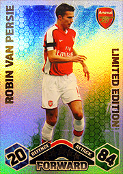 topps Match Attax09/10 #Limited Edition ファンペルシー