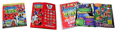 Match Attax アルバムとコレクターズガイド