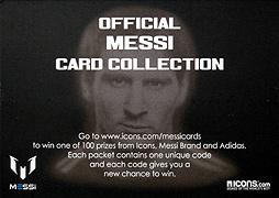 ICONS メッシ オフィシャルカード 通常版1