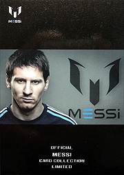 ICONS Messi official card limited 01