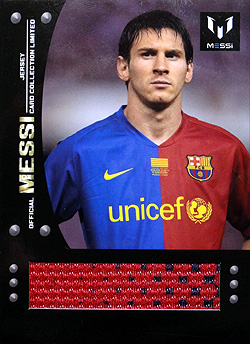 ICONS Messi official card limited Event-worn Jersey