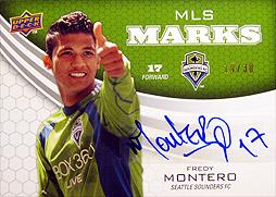 UD MLS 2010 Fモンテーロ 直筆サインカード
