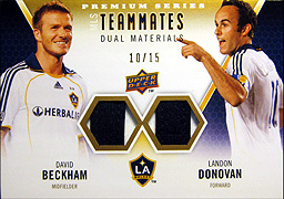 UD MLS 2010 ベッカム&ドノバン 10シリジャージ