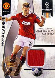 Panini チャンピオンズリーグ カードセット 2010-2011 キャリック ジャージ1