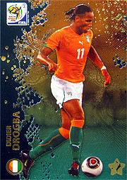 Panini 2010 FIFA World Cup カード #ドログバ