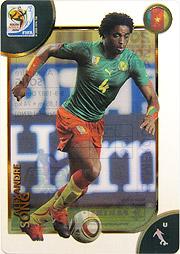 Panini 2010 FIFA World Cup カード #ソング