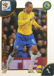 Panini 2010 FIFA World Cup カード #ジウベウト・シルバ