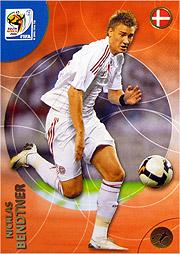 Panini 2010 FIFA World Cup カード #ベントナー