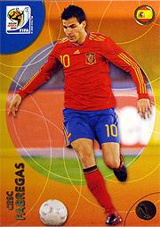 Panini 2010 FIFA World Cup カード #セスク