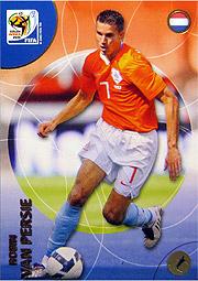 Panini 2010 FIFA World Cup カード #ファンペルシー