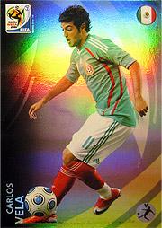 Panini 2010 FIFA World Cup カード #ヴェラ