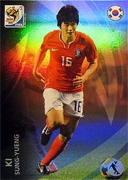 Panini 2010 FIFA World Cup カード #キ・ソンヨン