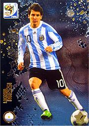 Panini 2010 FIFA World Cup カード #メッシ