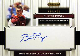 Razor 開封結果 2008 SIGNATURE Series Baseball(3)