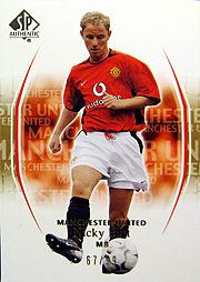 UD Manchester United SP ゴールドパラレル