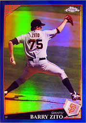 topps Chrome MLB 09 ジト