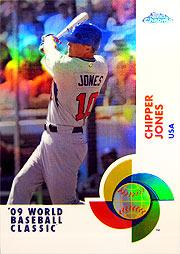 topps Chrome MLB 09 Cジョーンズ
