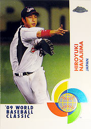 topps Chrome MLB 09 中島