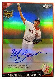topps Chrome MLB 09 Bowden