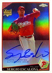 topps Chrome MLB 09 se