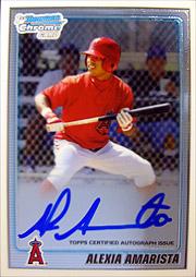 MLB topps Bowman Jumbo 2010 2