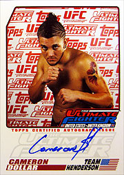 topps UFC 2009 13