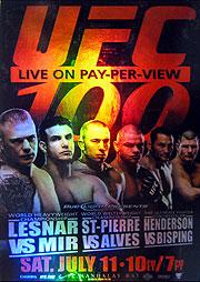 topps UFC 2009 9