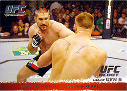 topps UFC Round1 Base Card