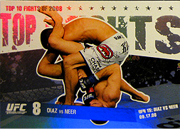 topps UFC Round1 Top 10 Fights of 2008